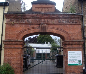 Old Infant school entrance